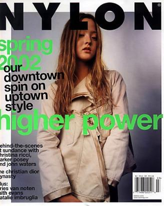 devon aoki nylon magazine | hair by joseph bartucci