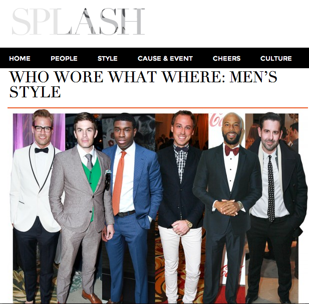Chicago Sun-Times Splash Men's Style