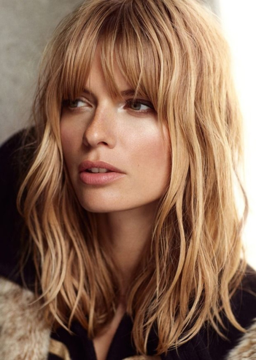 wavy-shag-with -bangs